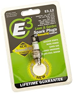 E3 Spark Plugs E3.12 Small Engine and Lawn & Garden Spark Plug , Pack of 1 by E3 Spark Plugs