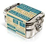 Stainless Steel Bento Box Lunch Box, A Large Metal 3 Tier Tiffin Food Container Snack Lunchbox For Boys Girls Teens Kids & Adults, Eco Friendly Meal Prep Food Container Storage For School or Work (Color: Stainless Steel, Tamaño: Bento box)