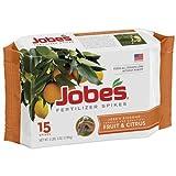 Jobe's Fruit And Citrus Fertilizer Spikes 15 Count