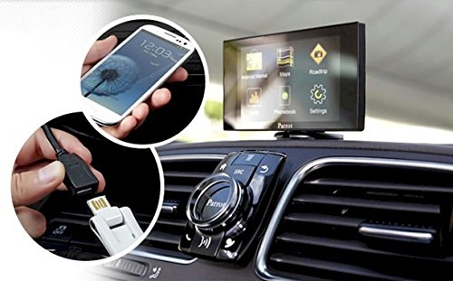 Parrot Asteroid MINI - In-car multimedia system with Apps, Music and Bluetooth hands-free (Parrot Asteroid Mini compare prices)