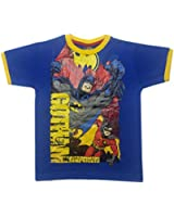 DC Comics Batman Boys Top T-Shirt Age 3-4,4-5,5-6,6-7,7-8,9-10 Years