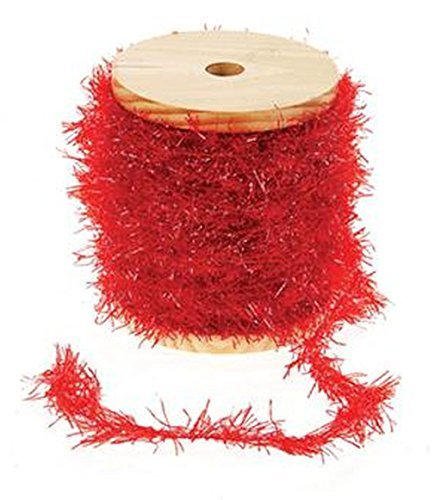 red-frayed-ribbon-with-glitter-on-wooden-spool-by-creative-co-op