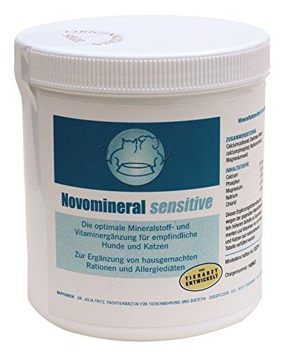 Bild von: Novomineral sensitive - Vitamin-Mineralfutter hypoallergen - Hund & Katze - 500 g