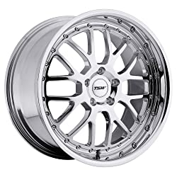 18×9.5 TSW Valencia (Chrome) Wheels/Rims 5×112 (1895VAL405112C72)