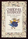 People One Ought to Know (0333342631) by Isherwood, Christopher