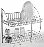 Lifetime Kitchen Rack Organiser Dish Drainer