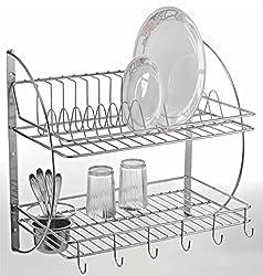 Lifetime Kitchen Rack Organiser Dish Drainer
