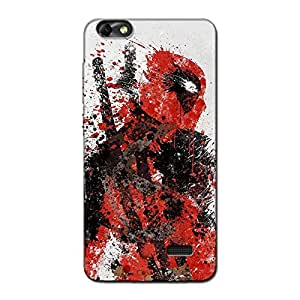 DEADPOOL BACK COVER FOR HONOR 4C