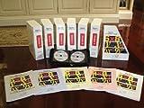 Algebra: A Complete Course: Algebra 1 and 2 (DVD Workbook Set, Module A, B, C, D, E, F)