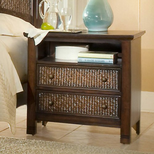 Two Tone Nightstand front-697337