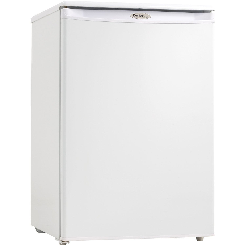 Danby DUFM043A1WDD 4.3 Cubic Feet Upright Freezer, White