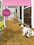 Murder, She Barked (Paws & Claws Mystery)
