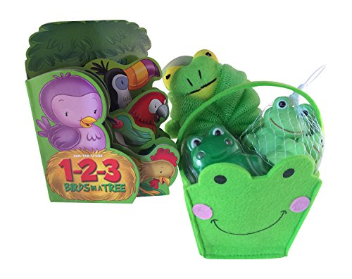 Frog Toddler Bath Gift Set