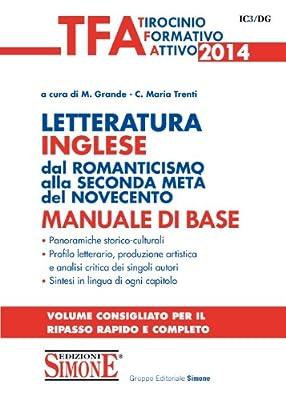 TFA - Letteratura Inglese dal romanticismo alla seconda metà del novecento: Manuale di base - Con quesiti a risposta multipla commentati • Panoramiche ... consigliato per il ripasso rapido e completo
