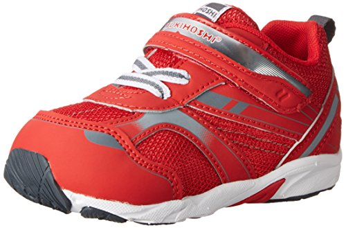 Tsukihoshi Baby 22 Sneaker (Toddler), Red/Gray, 6.5 M US Toddler