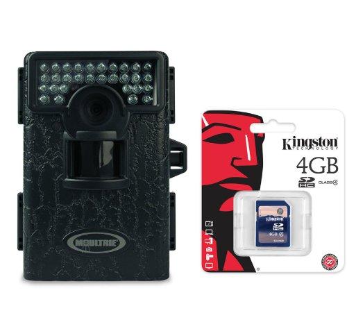 Moultrie Game Spy Mini M-80Xt Black Infrared Digital Trail Camera 5Mp + Sd Card