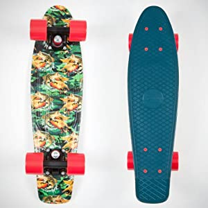 Penny Skateboard prémonté vert Hunting Length:22 Inches Length:22-Inches