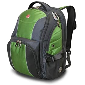Swiss Gear SA9751 Computer Backpack (Green)