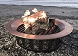 40-Solid-100-Copper-Fire-Pit-Bowl-Wood-Burning-Patio-Frontgate-Deck-Grill