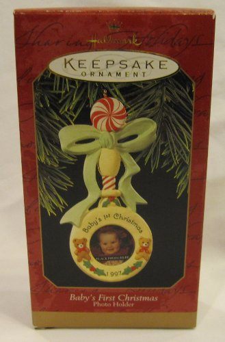 Hallmark 1997 Baby's First Christmas Keepsake Ornament QX6482 - 1