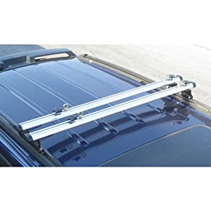 "Vantech J1000 ladder roof van rack 50"" cross bar (Fits Factory 1"" tracks)"