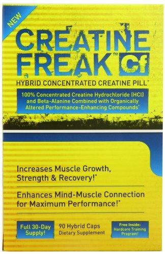 Pharma Freak Creatine Freak Muscle Growth and Recovery Capsules - Box of 90
