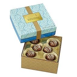 Lindt Signature Select Hazelnut Chocolate Truffle Box, 6.6oz (Pack of 6)