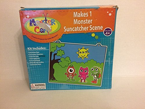 Monster Suncatcher Scene