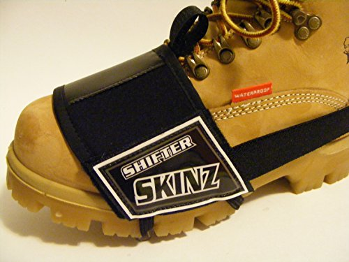 Shu-Band-It Shifter Skinz Shoe Boot Scuff Protector (Black) (Motorcycle Shoe Cover compare prices)