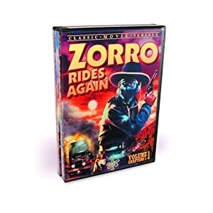Zorro Rides Again - Volumes 1 & 2 (Complete Serial) (2-DVD) movie