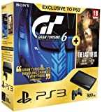 Sony PlayStation 3 500GB Super Slim Console with Gran Turismo 6 Plus The Last of Us (PS3)