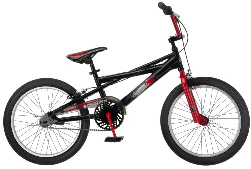Schwinn Boy's Throttle 20-Inch BMX Bicycle, Black