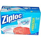 Ziploc Quart Freezer Bags - 54-Count