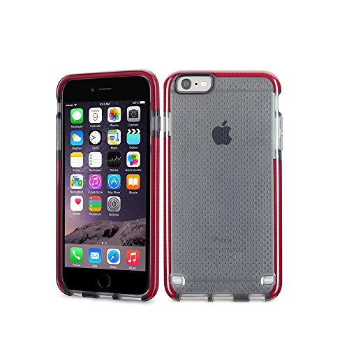 tech21 evo mesh coque pour iphone 6 6s rouge coque pour iphone. Black Bedroom Furniture Sets. Home Design Ideas