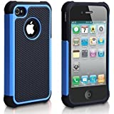 iPhone 5C Case, AUMI Hybrid Dual Layer Shock Absorbin Armor Defender Protective Case Cover (Hard Plastic with Soft Silicon) for Apple iPhone 5C