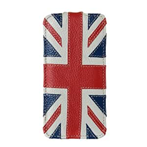 Melkco - Premium Leather Case for Apple iPhone 5C - Jacka Type Craft Edition - The Nations - The Nations/Britain - APIPONLCJCEBRIN
