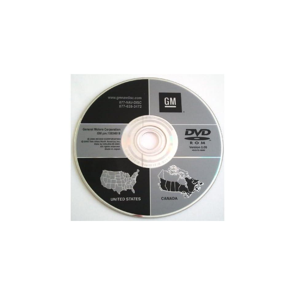 2.00 GMC Chevrolet Cadillac Hummer OEM Navigation DVD GPS