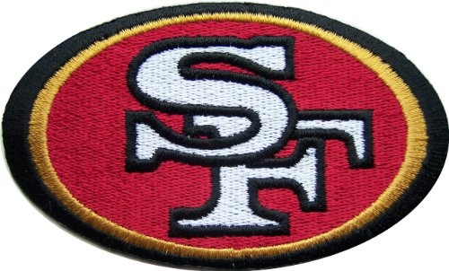 NFL Football SAN FRANCISCO 49ERS Logo Embroidered PATCH at Amazon.com