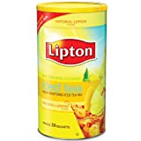 Lipton Lemon Flavor Sugar Sweetened Iced Tea Mix 38 Quarts