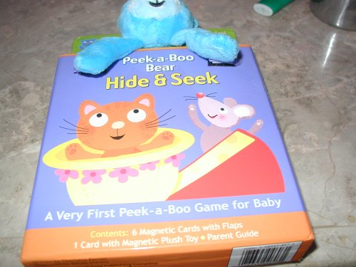 Infant Magnetic Peek a Boo Bear Hide & Seek - 1