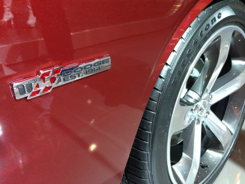 Dodge Charger Challenger 100th ANNIVERSARY EMBLEM NAMEPLATE BADGE OEM (Dodge 100 Emblem compare prices)