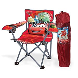 Amazon.com: Disney Pixar Cars Kids Folding Camp Chair ...