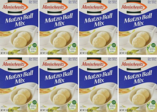 MANISCHEWITZ Matzo Ball Mix, 5-Ounce Boxes (Pack of 8) (Matzo Ball Soup Mix compare prices)