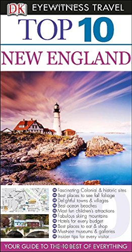 Top 10 New England (Eyewitness Top 10 Travel Guide) front-590453