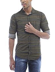 Bandit Gold Casual slim Fit Shirt