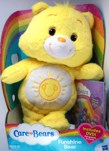 Care Bears Classic Plush Funshine Bear 2012