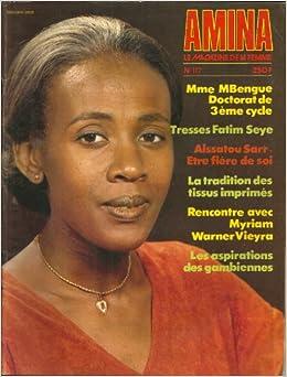 Amina le magazine de la femme senegalaise n 117 meme for Eminza magasin