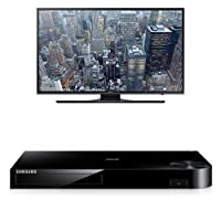 Samsung UN48JU6500 48-Inch TV with BD-H6500 Blu-ray Player by Samsung