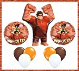 Disney Wreck-It Ralph 32' Ralph Birthday Jumbo Mylar Foil Balloon Set - Children's Party Supplies