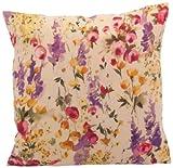 Ian Snow Foxglove Print Cushion Cover, Multi-Color